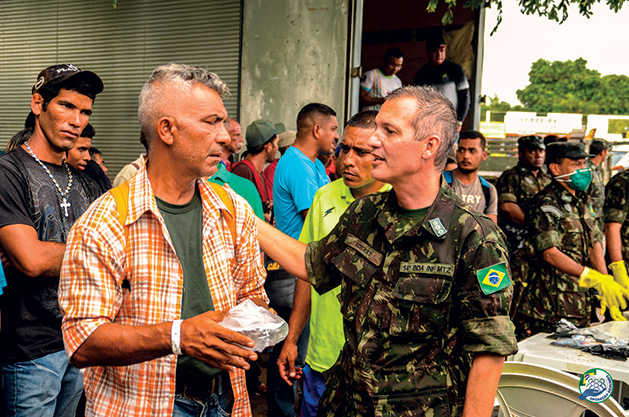 Operation Acolhida: The Brazilian Armed Forces' Efforts in Supporting Displaced Venezuelans