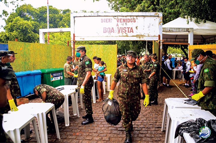 Use of the Brazilian Military Component in the Face of Venezuela's Migration Crisis