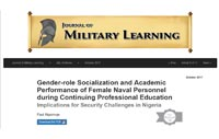 Gender-role Socialization and Academic Performance of Female Naval Personnel during Continuing Professional Education Implications for Security Challenges in Nigeria