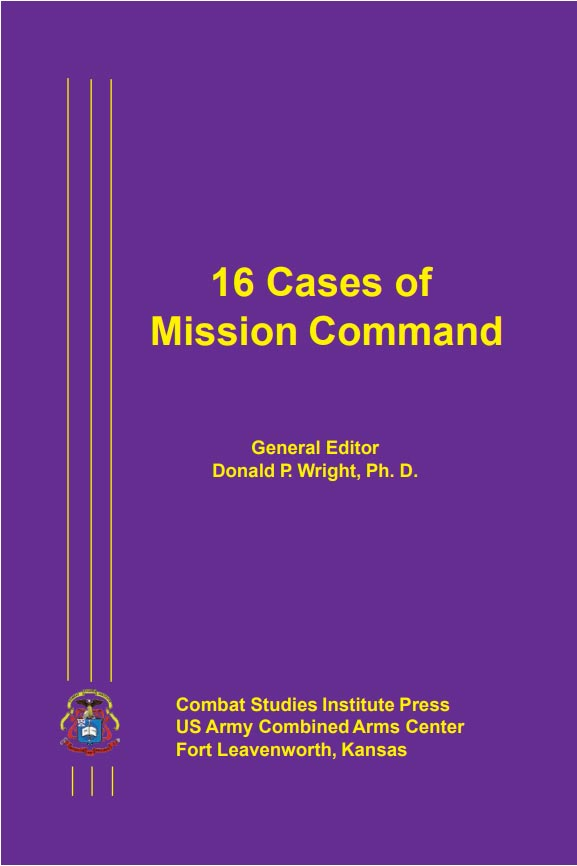 16 Cases in Mission Command- cover