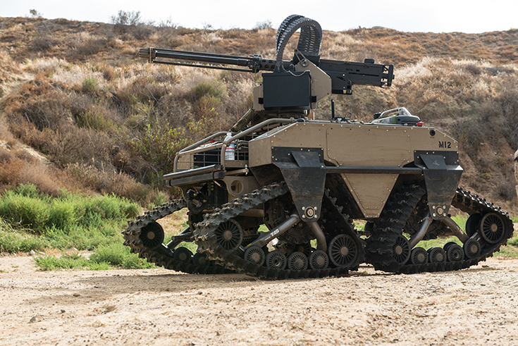 5th Marine Regiment test new equipment such as the unmanned Multi-Utility Tactical Transport (MUTT)