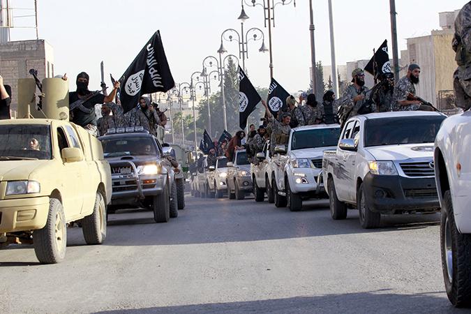 Militant-Islamist-parade