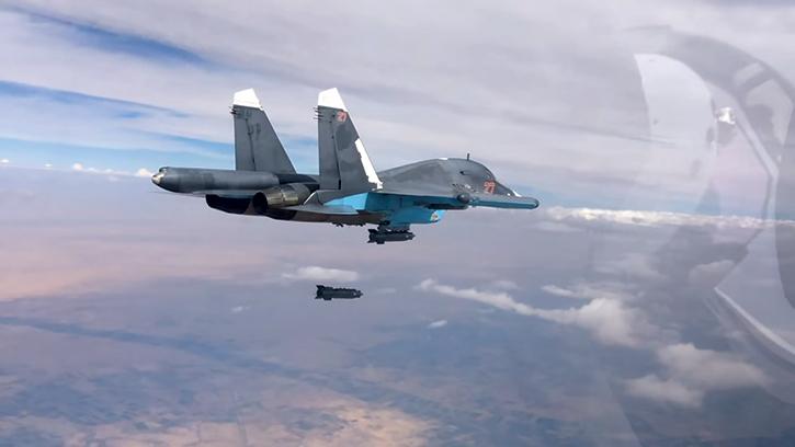 Russian-Sukhoi-aircraft