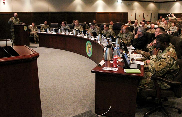 U.S. military logistics leaders and experts from across the Department of Defense