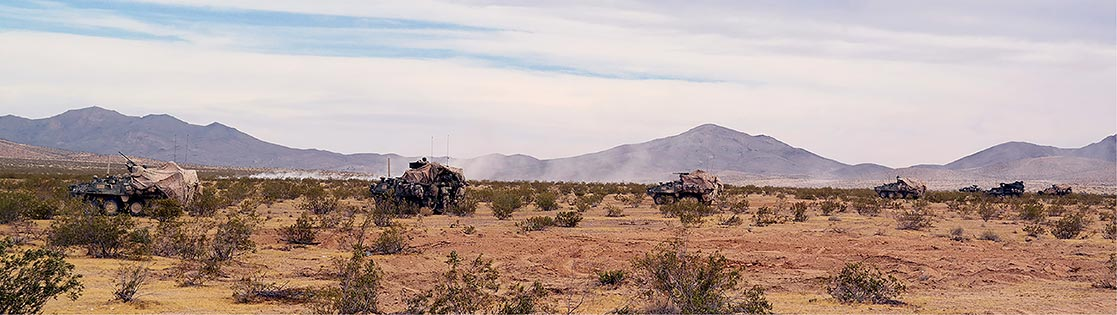 Strykers from Company C, 5th Battalion, 20th Infantry Regiment