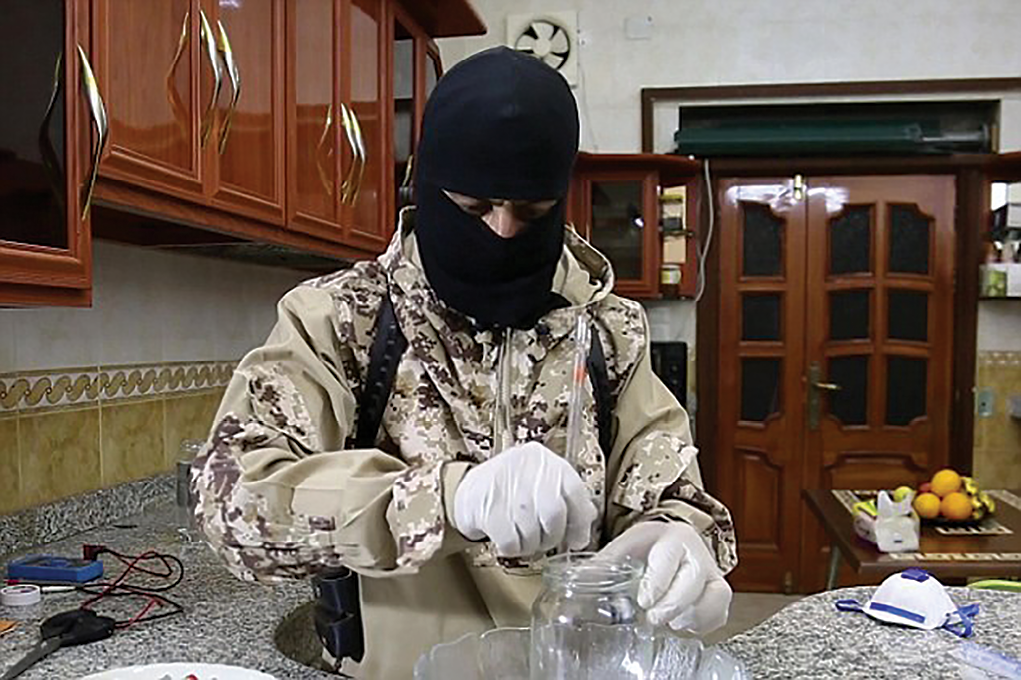 An Islamic State (IS) instructional video titled