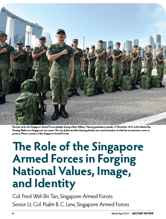 Article: The Role of the Singapore Armed Forces in Forging National Values, Image, and Identity,