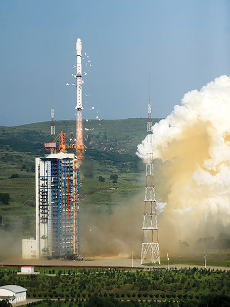 China-launch-satellites