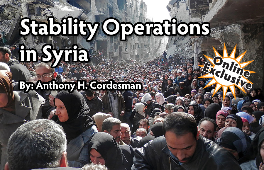 Stability Operations in Syria