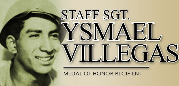 Photo of Staff Sgt. Ysmael Villegas, medal of honor recipient.