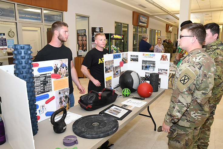Whether it was some helpful reminders or a discovery of much-needed support and services, there was something for everyone to learn at the 101 Days of Summer Health and Wellness Fair at Fort Drum, New York, June 13, 2019.