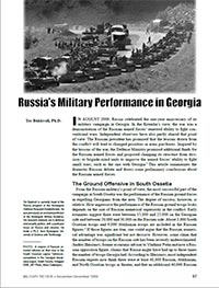 Russia's Military Performance in Georgia