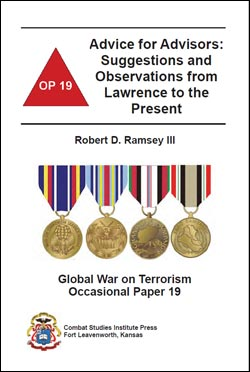 Occasional Paper 19 - Advice for Advisors: Suggestions and Observations from Lawrence to the Present