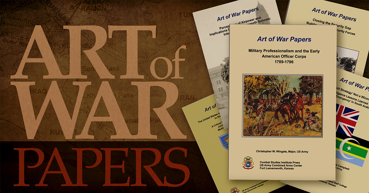 Art of War Paper