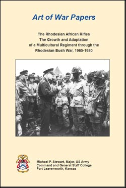 Art Of War Papers: The Rhodesian African Rifles
