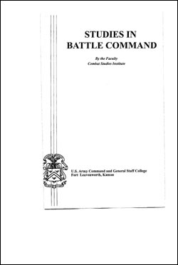 Studies in Battle Command
