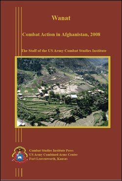 Wanat: Combat Action in Afghanistan, 2008