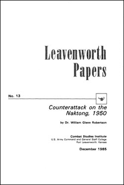 Counterattack on the Naktong, 1950 - Leavenworth Papers No. 13