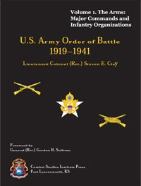 U.S. Army Order of Battle, 1919-1941 - Vol 1