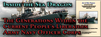Inside the Sea Dragon: The Generations Within the Current People's Liberation Army Navy Officer Corps