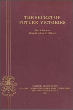 The Secret of Future Victories