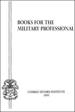 Books for the Military Professional