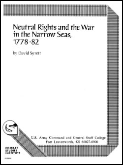 Neutral Rights and the War in Narrow Seas 1778-82