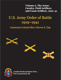 U.S. Army Order of Battle, 1919-1941 - Vol 2