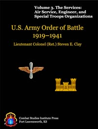 U.S. Army Order of Battle, 1919-1941 - Vol 3