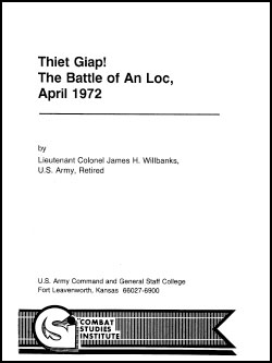 Thiet Giap! The Battle of An Loc, April 1972