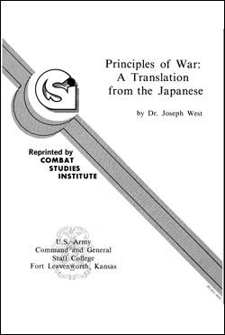 Principles of War: A Translation from the Japanese