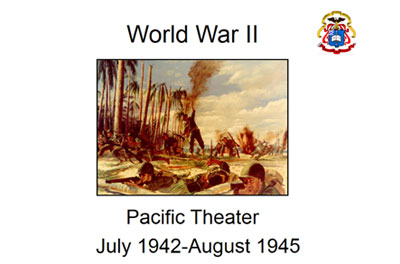 Pacific Theater-US Offense (July 1942-August 1945)
