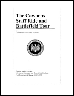 The Cowpens Staff Ride and Battlefield Tour