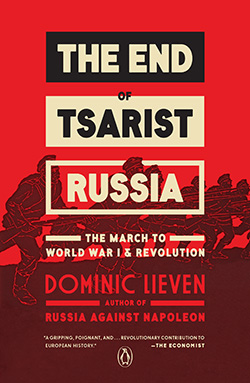 The End of Tsarist Russia Cover