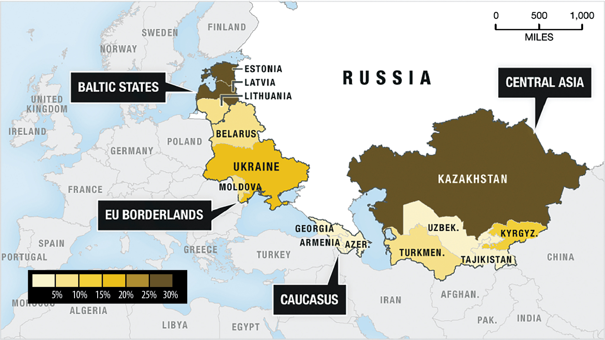 Suggest an advantageous connection for calls from Kazakhstan to Russia