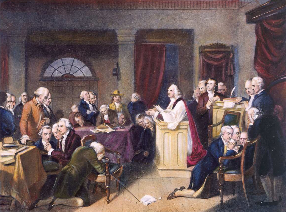 First prayer for the Continental Congress