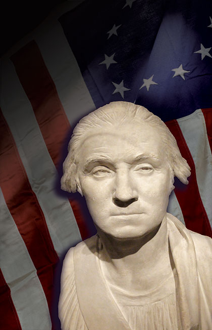 George Washington Plaster