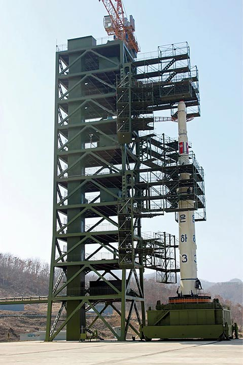 North Korean Unha-3 rocket