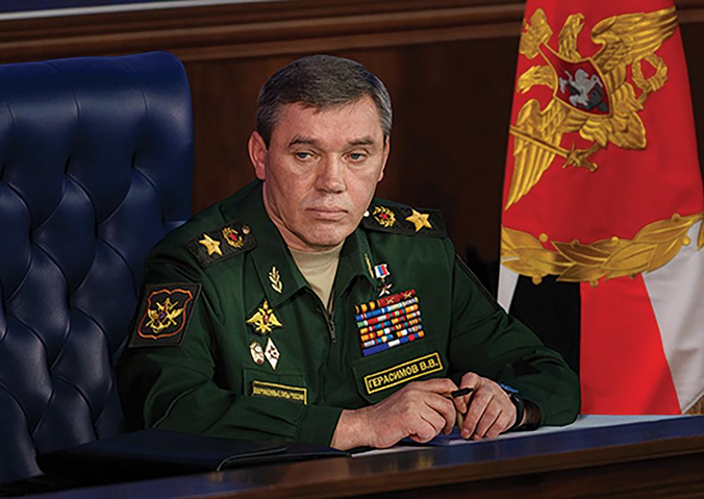 Gen Valery Gerasimov, Chefe do Estado-Maior Geral das Forças Armadas da Federação Russa. (Foto cedida pelo Ministério da Defesa da Federação Russa)