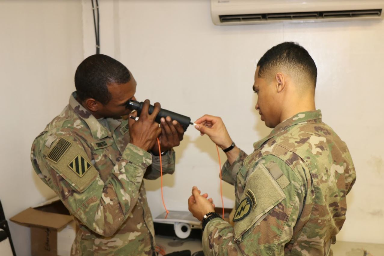 Signal Support Training Vital to Effective Communications on the Battlefield