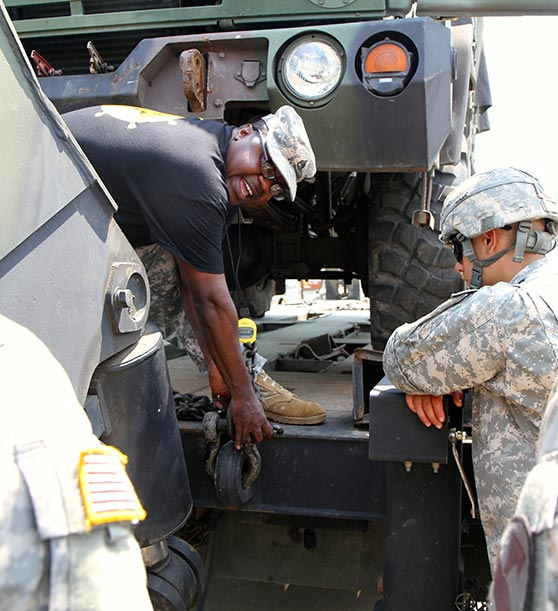 The 46th Transportation Company, 194th Combat Sustainment Support Battalion conducted their Annual Sustainment Truck Rodeo
