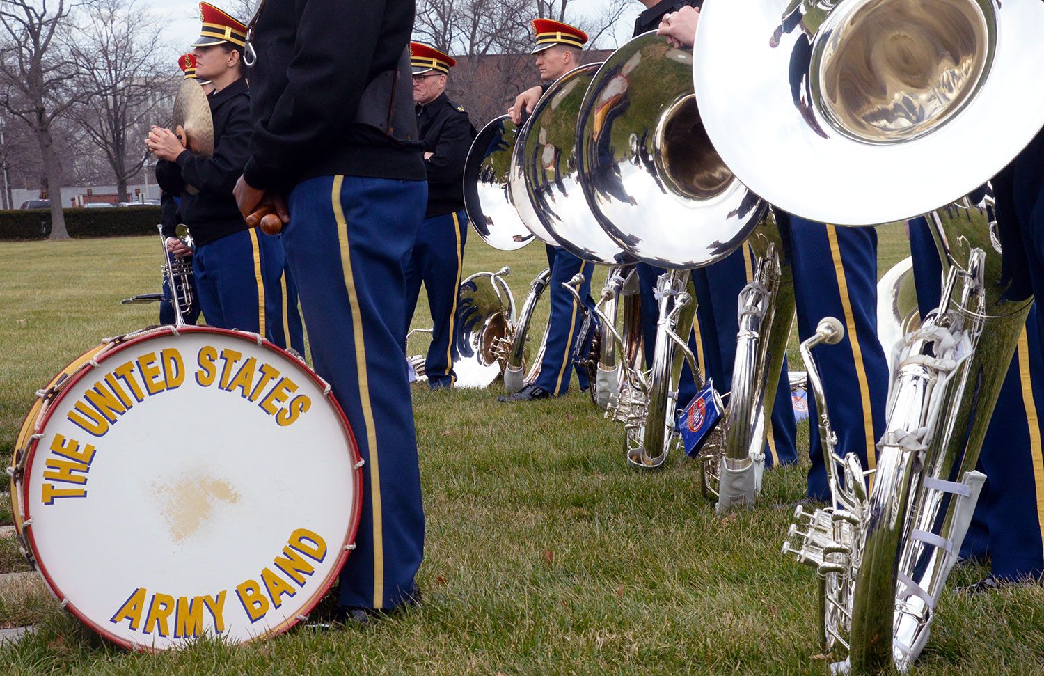 Members of the U.S. Army Band