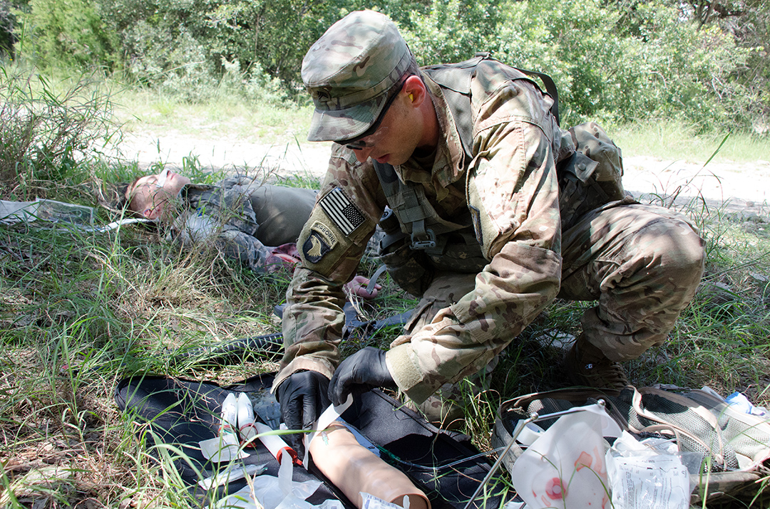 Teams prepare for Armywide best medic competition