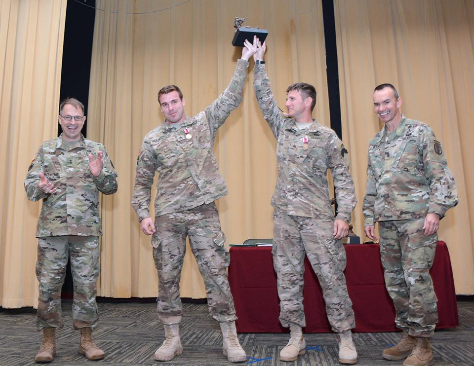 Best medic winners named after grueling competition