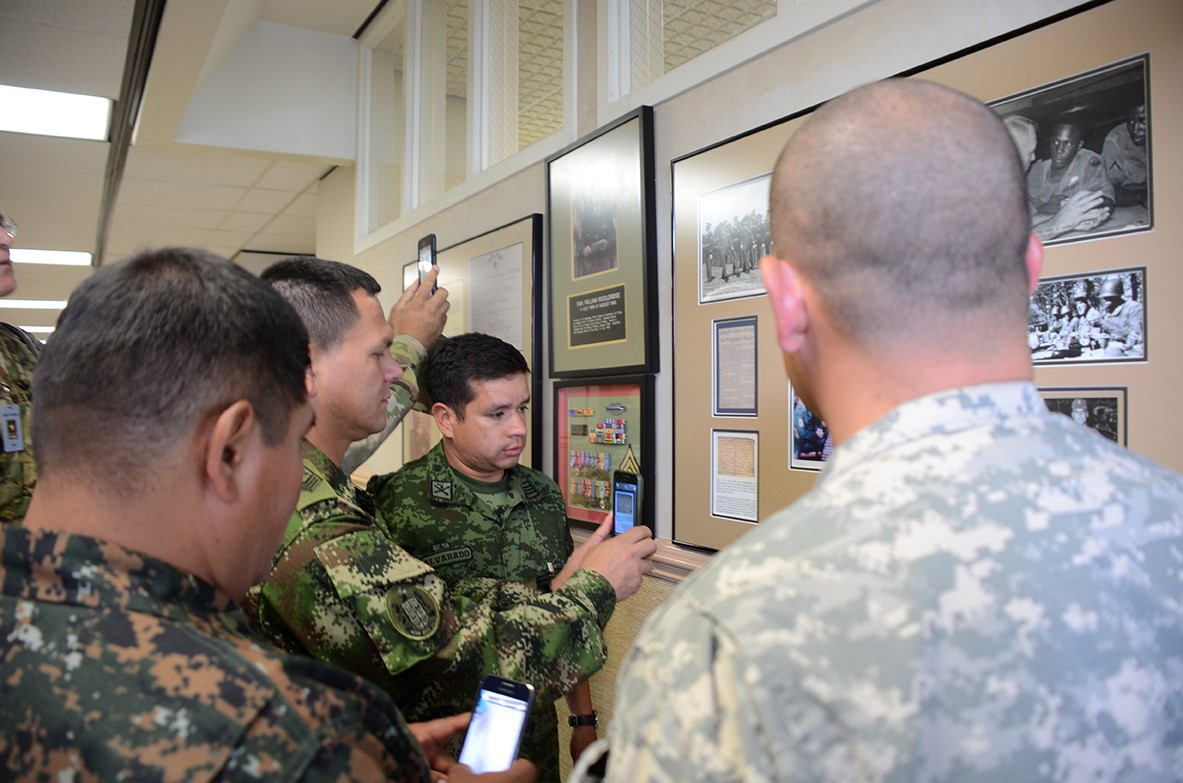 Senior Enlisted Soldiers From Around the World Tour USASMA