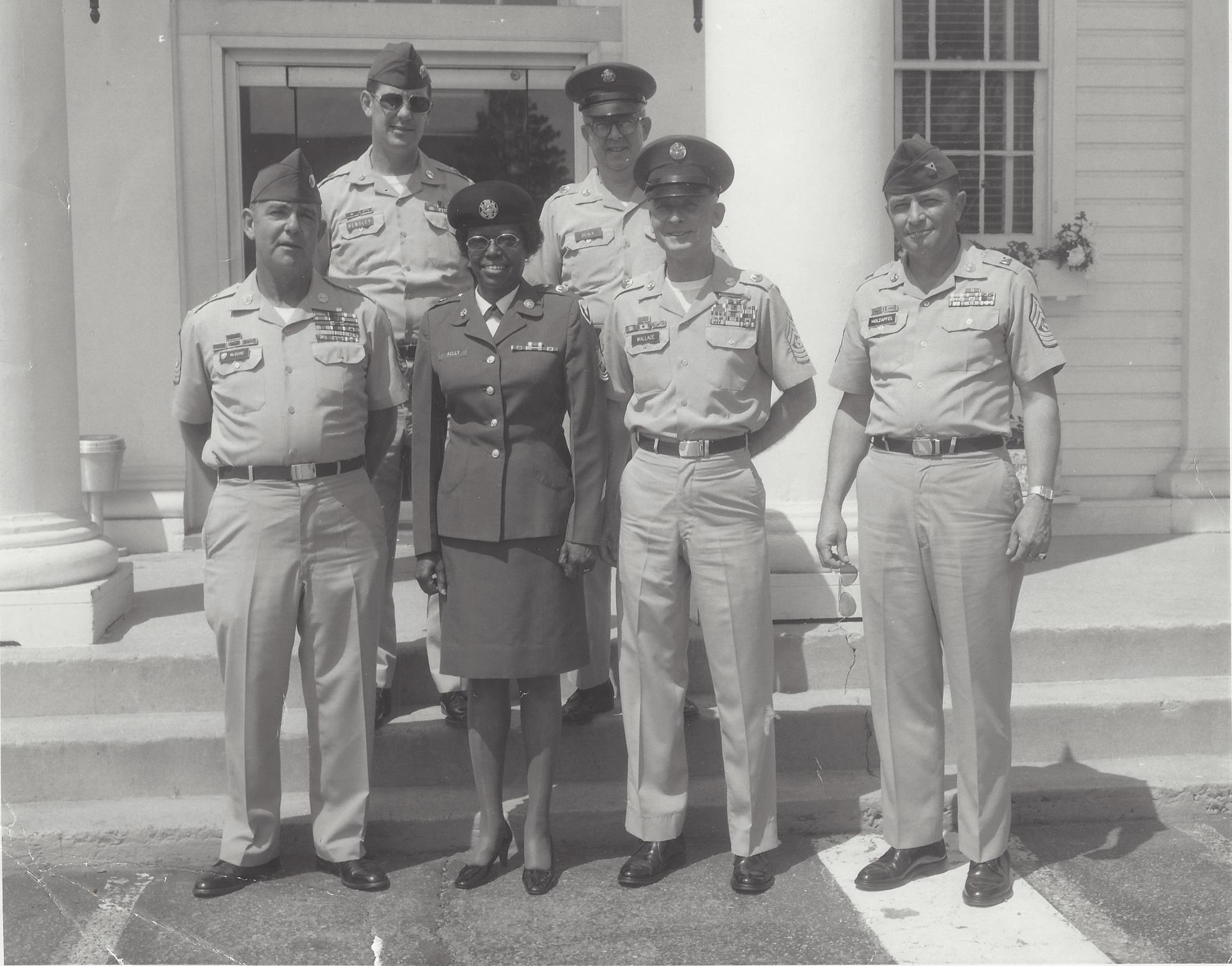 Command Sgt. Maj. Mildred C. Kelly