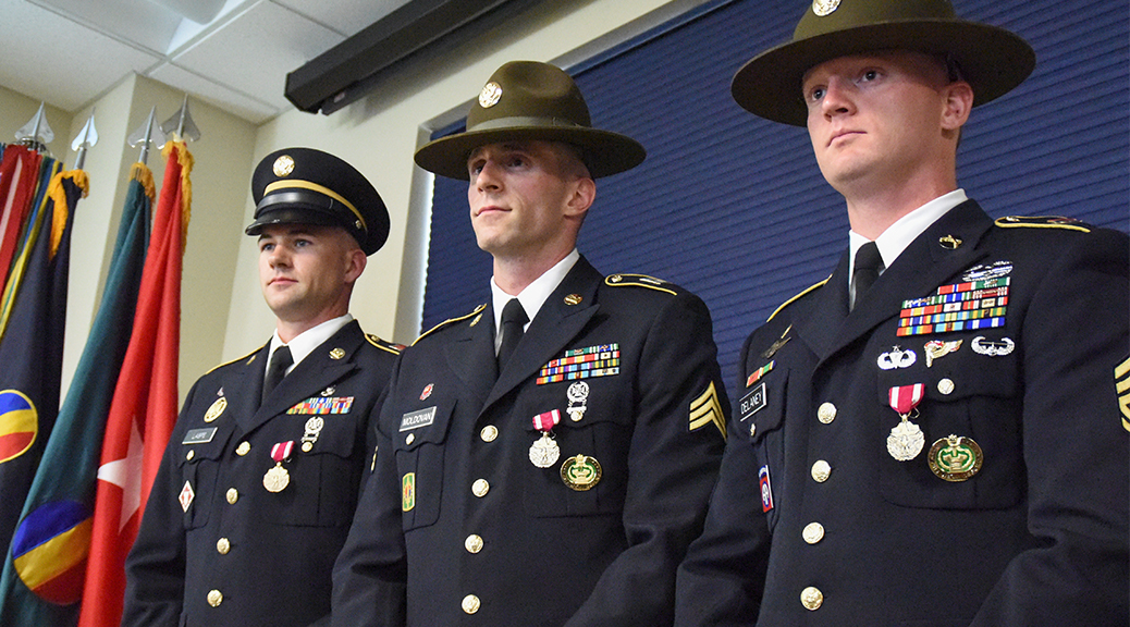 Drill sergeants, AIT platoon sergeant of year winners announced