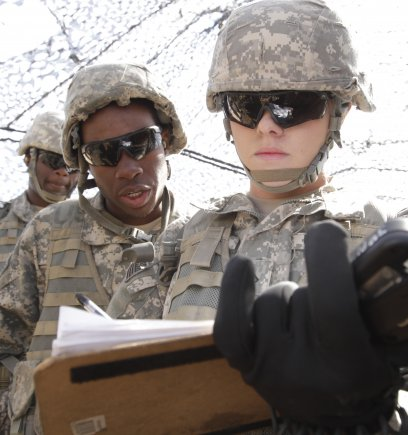 Army's first female cannoneer finishes top of class, praises NCOs for their support