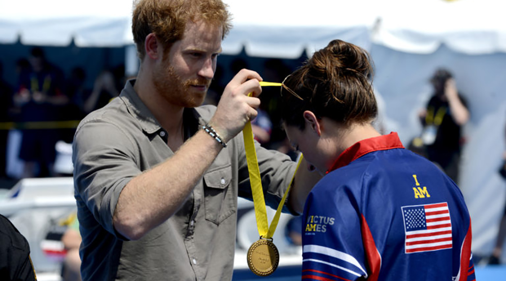 WCAP NCO Asks Prince Harry to Give Her Invictus Gold Medal to Hospital That Saved Her Life