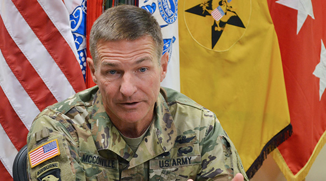 Lt. Gen. James McConville, Army G-1